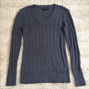 Banana republic Cute dark grey glitter xs sweater